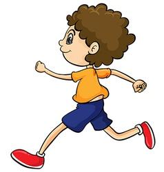 A boy vector image vector image