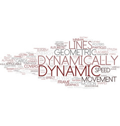 Dynamically word cloud concept vector