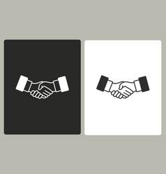 Handshake - icon vector