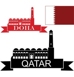 Qatar vector