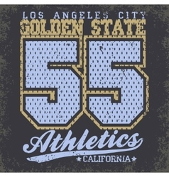 Sport typography graphics t-shirt vector