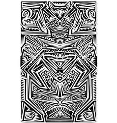 Tribal Tatoo vector image vector image