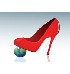 woman world vector image