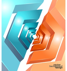Background abstract geometric design vector