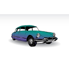 Citroen DS 19 vector image