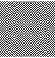 Ethnic tribal zig zag and rhombus seamless pattern vector image vector image