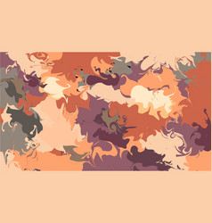 liquid background in a style of liquid painting vector image