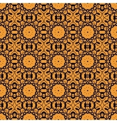 Seamless oriental print retro ornate mandala vector