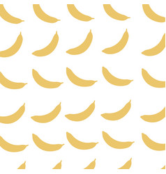 Banana fruit harvest fresh seamless pattern image vector