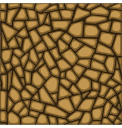 Seamless texture of stone wall vector