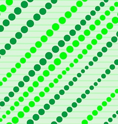 Seamless Geometric Background Dots and Lines vector image