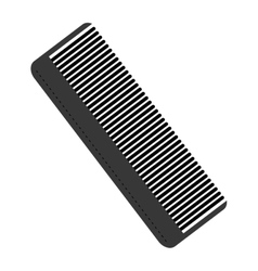 Hair comb icon vector