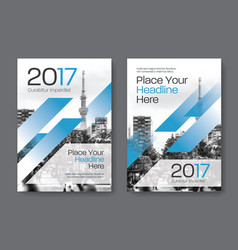 city background business book cover design vector image