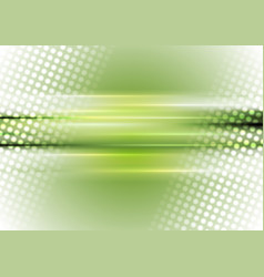 Green and white abstract shiny background vector