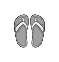 Slates icon black monochrome style vector