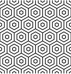 Hexagons texture vector image