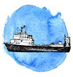 Sketch of ship vector