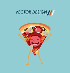Character food design vector