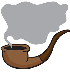 Smoking pipe i vector
