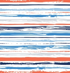 Colorful stripes seamless pattern vector image vector image