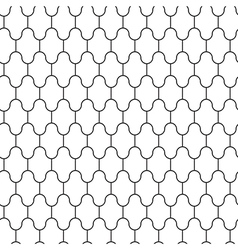 Simple pattern seamless vector image vector image