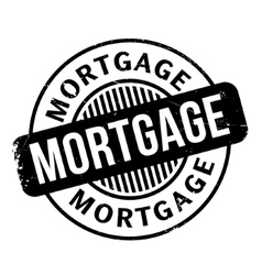 Mortgage rubber stamp vector