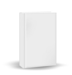 Book in a realistic 3d style mock-up for your vector