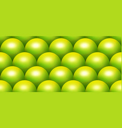 Green scale sphere seamless pattern vector