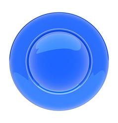 PlateBlue vector image