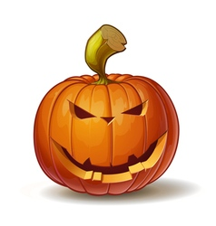 Pumpkins smiling 4 vector
