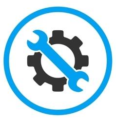 Service flat icon vector