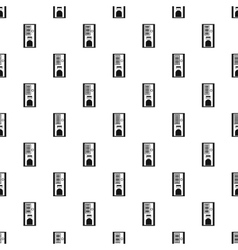 Coffee vending machine pattern simple style vector