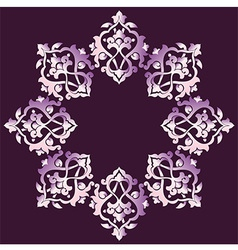 Artistic ottoman pattern series sixty four vector