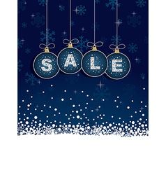 blue sale tags vector image vector image