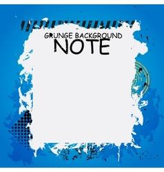 Grunge background banner vector