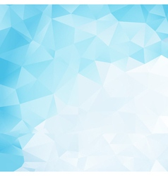 Icy background vector