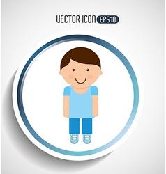 person icon design vector image