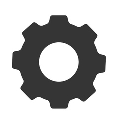 Gear cogwheel tool icon graphic vector