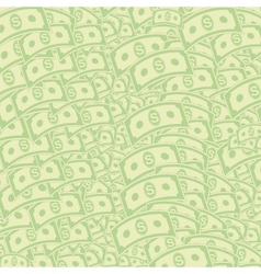 Dollars pattern american banknotes us currency vector
