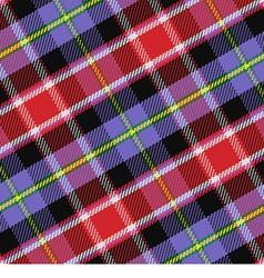 Pattern scottish tartan colorado vector