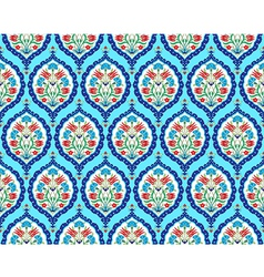 background with seamless pattern two vector image