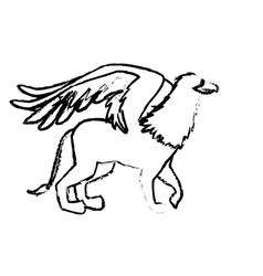 Griff greek mythological creature beast image vector