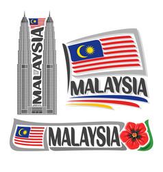 Logo malaysia vector