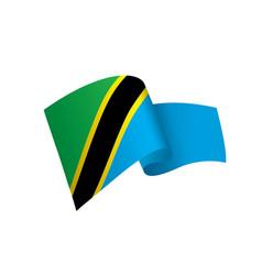 Tanzania flag vector