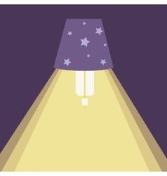 Chandelier light icon vector