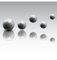 Spheres in motion vector