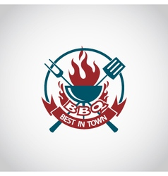Barbecue icon design vector