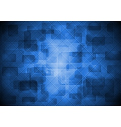 Abstract design with square texture vector image vector image