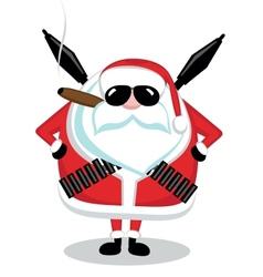 Bad santa vector
