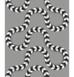 Zig zag stripes optical seamless pattern some vector
